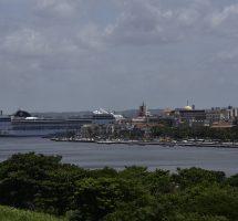Blick auf Havanna Hafen