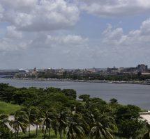Blick auf Havanna Veija und Hafen