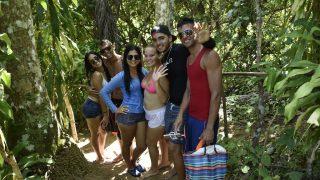 Lustige Gruppe (im El Nicho)