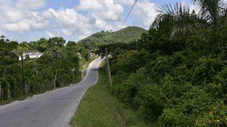 Sanfte Hügel führen nach Santa Clara