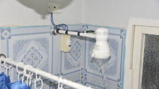 Das Abenteuer in Kuba beginnt beim Duschen