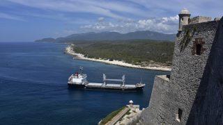 Einfahrt zur Bucht von Santiago de Cuba