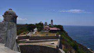 Santiago von der Festung zum Leuchtturm